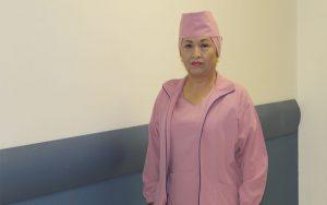 María Virginia Aguilar Orozco, Auxiliar de Enfermería