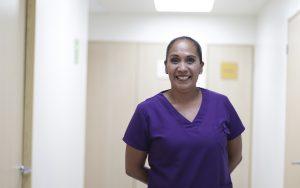 Olga Inés Huerta García, Coordinadora del Centro de Hemodiálisis en Hospital Vidriera